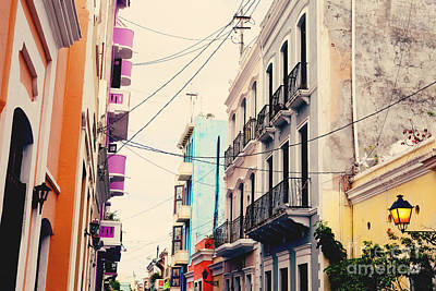 Old San Juan Puerto Rico Poster by Kim Fearheiley