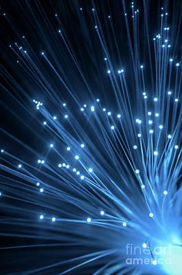 Optic Fiber Poster