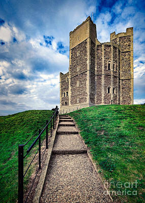 Orford Castle Poster by Svetlana Sewell