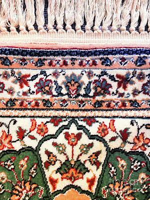 Oriental Rug Detail Poster