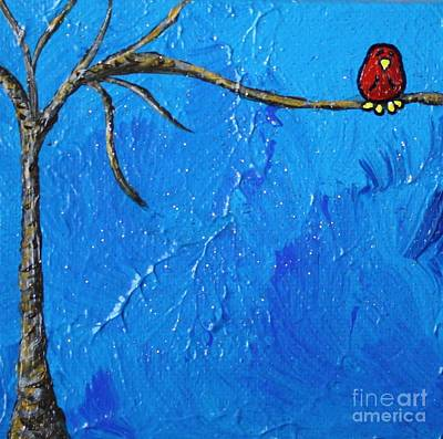 Out On A Limb Poster by LimbBirds Whimsical Birds