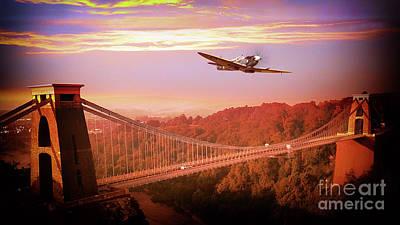 Over The Bridge Poster