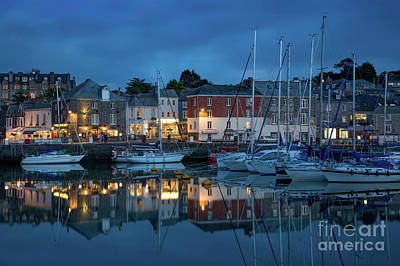 Poster featuring the photograph Padstow Evening by Brian Jannsen