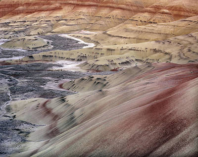 Painted Hills Poster by Leland D Howard