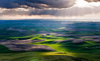 Palouse Hills Poster