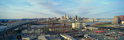 Panoramic Afternoon Shot Of Cincinnati Poster by Panoramic Images