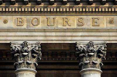 Paris Stock Exchange Poster by Dutourdumonde Photography