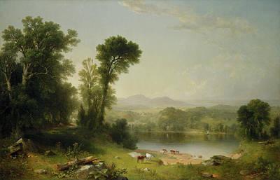 Pastoral Landscape Poster