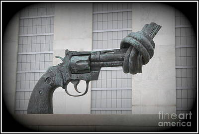 Peace Is The Answer - Iconic New York City Sculpture Poster