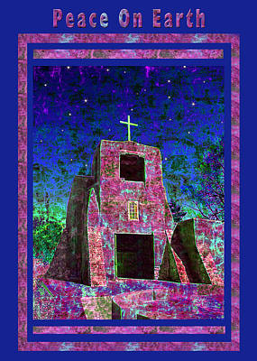 Peace On Earth Poster by Kurt Van Wagner