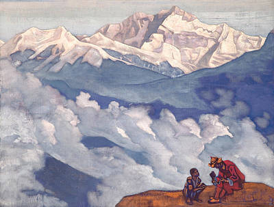 Pearl Of Searching Poster by Nicholas Roerich