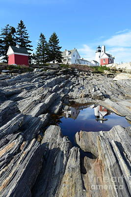 Pemaquid Point Light House  Poster