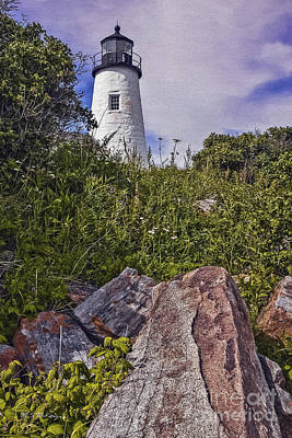 Pemaquid Point Reflections Poster by M S McKenzie