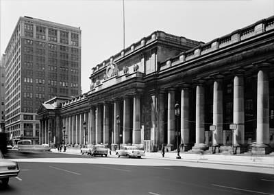Pennsylvania Station, Exterior, New Poster