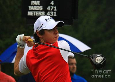 Irish Golfer Rory Mcelroy Poster