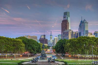 Philadelphia Cityscape Poster