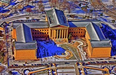 Philadelphia Museum Of Art 26th Street And Benjamin Franklin Parkway Philadelphia Pennsylvania 19130 Poster