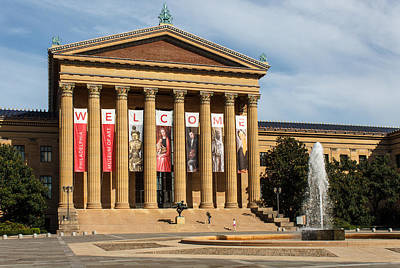 Philadelphia Museum Of Art Poster