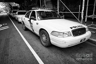 Philadelphia Police Ford Crown Vic Cruiser Patrol Car Vehicle Usa Poster