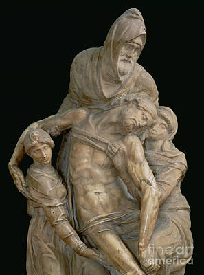 Pieta, 1553 Poster by Michelangelo