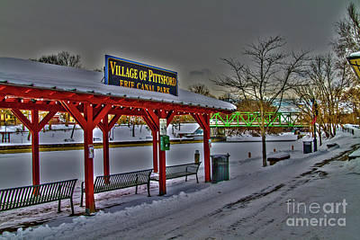 Pittsford Canal Park Poster
