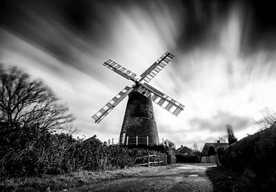 Polegate Windmill Poster