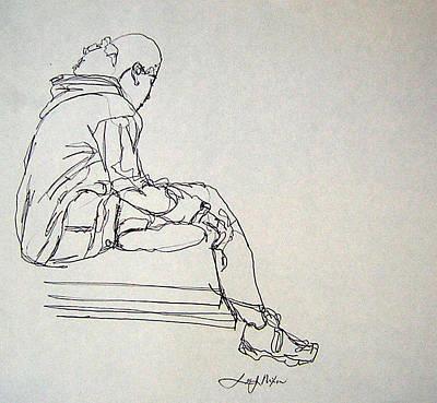 Pondering Poster by Lee Nixon