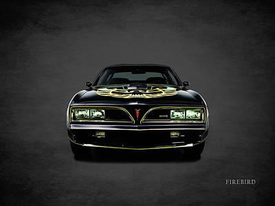 Pontiac Firebird Trans Am Poster by Mark Rogan
