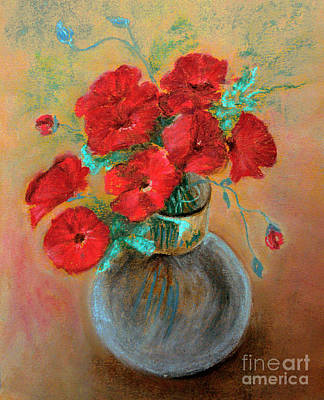Poppies  Poster by Jasna Dragun