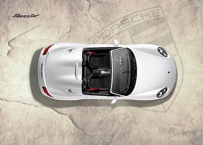 Porsche Boxster Poster by Mark Rogan
