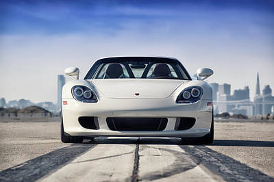 Poster featuring the photograph #porsche #carreragt by ItzKirb Photography