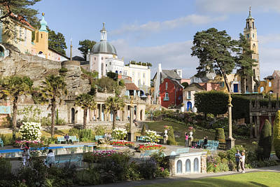 Portmeirion - Wales Poster