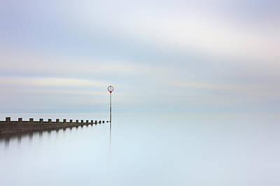 Poster featuring the photograph Portobello Seascape by Grant Glendinning