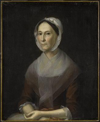 Portrait Of Mrs Poster