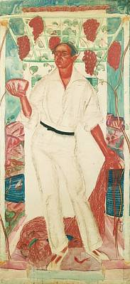 Portrait Of Roberto Montenegro Poster