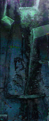Poster featuring the digital art Poseidon by Ken Walker