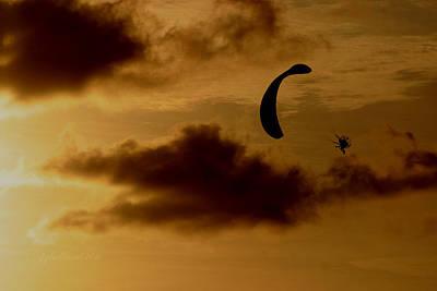 Power Hang Glider Poster by Joseph G Holland
