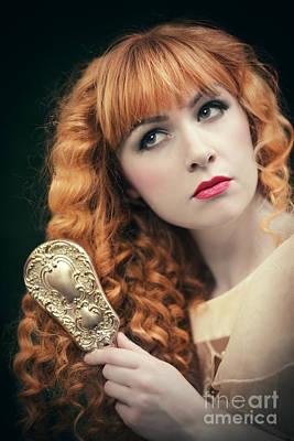 Pre-raphaelite Beauty Poster by Amanda Elwell