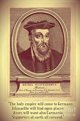 Predictions Of Nostradamus 3 Poster