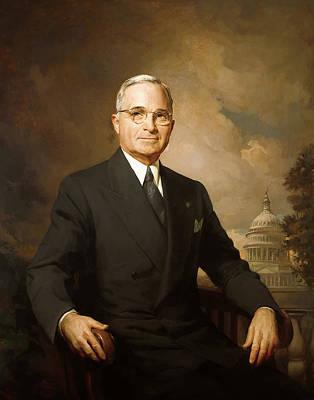 President Harry Truman Poster