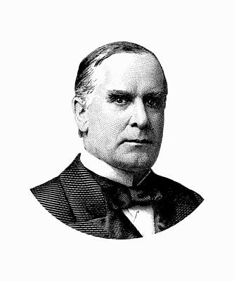President William Mckinley Graphic Poster by War Is Hell Store