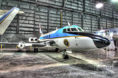 Presidential Aircraft - Lockheed, Vc-140b Jetstar  Poster