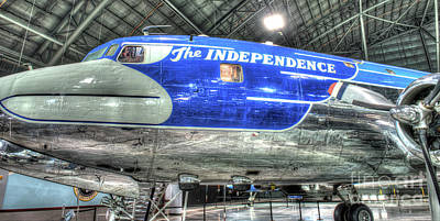 Presidential Aircraft - The Independence, Douglas, Vc-118  Poster