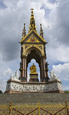 Prince Albert Memorial Statue  Poster by David French