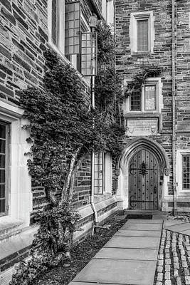 Poster featuring the photograph Princeton University Foulke Hall II by Susan Candelario