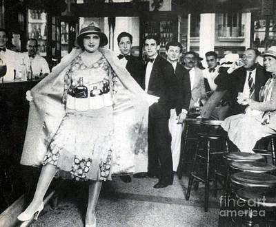 Prohibition, Flapper Flask Fashion Poster