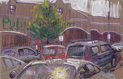 Publix Parking Poster by Donald Maier