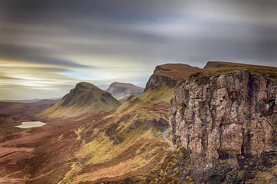 Poster featuring the photograph Quiraing - Isle Of Skye by Grant Glendinning