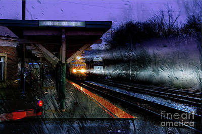 Rain And Rail Poster