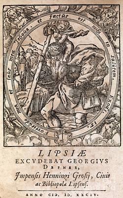 Rantzaus Astrology Book, 1584 Edition Poster